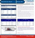 DERIVATIVE REPORT FOR 24 June - MANSUKH INVESTMENT AND TRADING SOLUTIONS