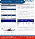 DERIVATIVE REPORT FOR 25 July - MANSUKH INVESTMENT AND TRADING SOLUTIONS