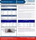 DERIVATIVE REPORT FOR 27 June - MANSUKH INVESTMENT AND TRADING SOLUTIONS