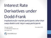 Interest Rate Derivatives under Dod...