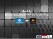 Integración WordPress / CodeIgniter...