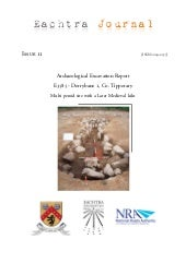 Archaeological Report - Derrybane 1...