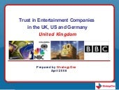 Edelman Trust in Entertainment Rese...