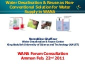 Desalination and water reuse Norred...