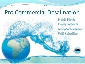 Desalination good