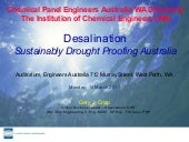 Desalination Sustainably Drought P...
