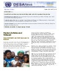 UN DESA Newsletter, October 2011