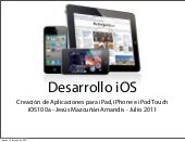 Desarrollo de apps para iphone