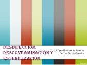 Descontaminacion y desinfeccion