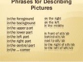 Describing pictures