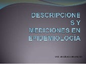 Descripcion Y Mediciones Epidemiolo...