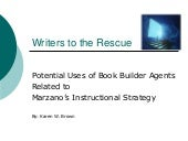 Potential Uses of Book Builder Agents