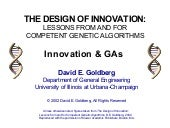 Design of Innovation: Innovation & ...