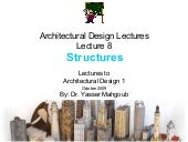 Architectural Design 1 Lectures by ...