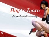 Play to Learn : Keynote by Professo...