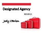 Designated Agency - RE90R14