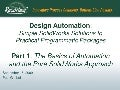 Design Automation - Simple Solid Works Solutions To Practical Programmatic Packages
