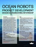 Design & Engineering Internship in Ocean Robotics