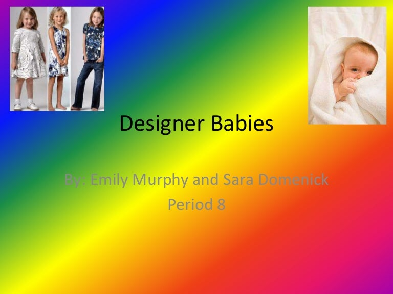 Essays on designer babies