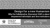 Design For a New Humanism