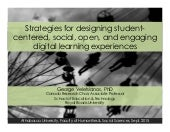 Designing digital learning