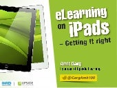 Designing eLearning for iPads - Get...