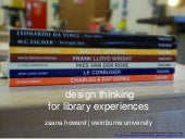 Design thinking for library experie...