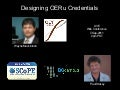 Designing OERu Credentials