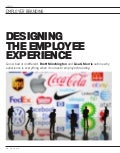 Designing the employee experience