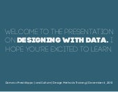 Designing with Data: Creating Visua...