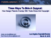 Three Ways to Skin a Copycat: Desig...
