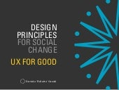 Design Principles for Social Change: UX for Good and Inzovu Curve
