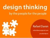 Design Thinking For the People