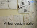Virtual design walls
