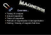 Magnetism Science Physics e Learning