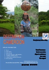 Destination cameroon tourism by glo...