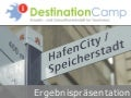 Destinationcamp 2011 - Ergebnispraesentation