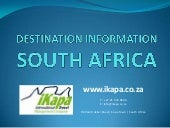 Destination information south afric...