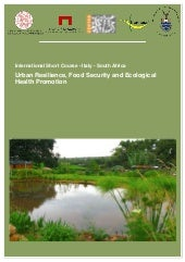 Urban Resilience, Food Security and...