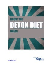 Detox Diet Ebook