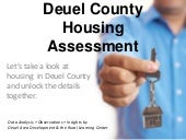Deuel County Housing Assessment Upd...