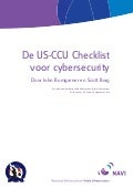 De Us Ccu Checklist Voor Cybersecurity