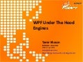 Wpf Under The Hood Engines