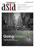 Going Green:Why Asia is moving toward a green model of growth