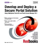 Develop and deploy a secure portal ...