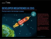 VisionMobile - Developer Megatrends H1 2015