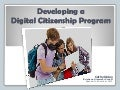 Developing a Digital Citizenship Program