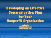 Developing An Effective Communicati...