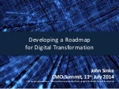 Developing a Roadmap for Digital Transformation