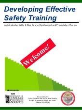 Developing effective safety training